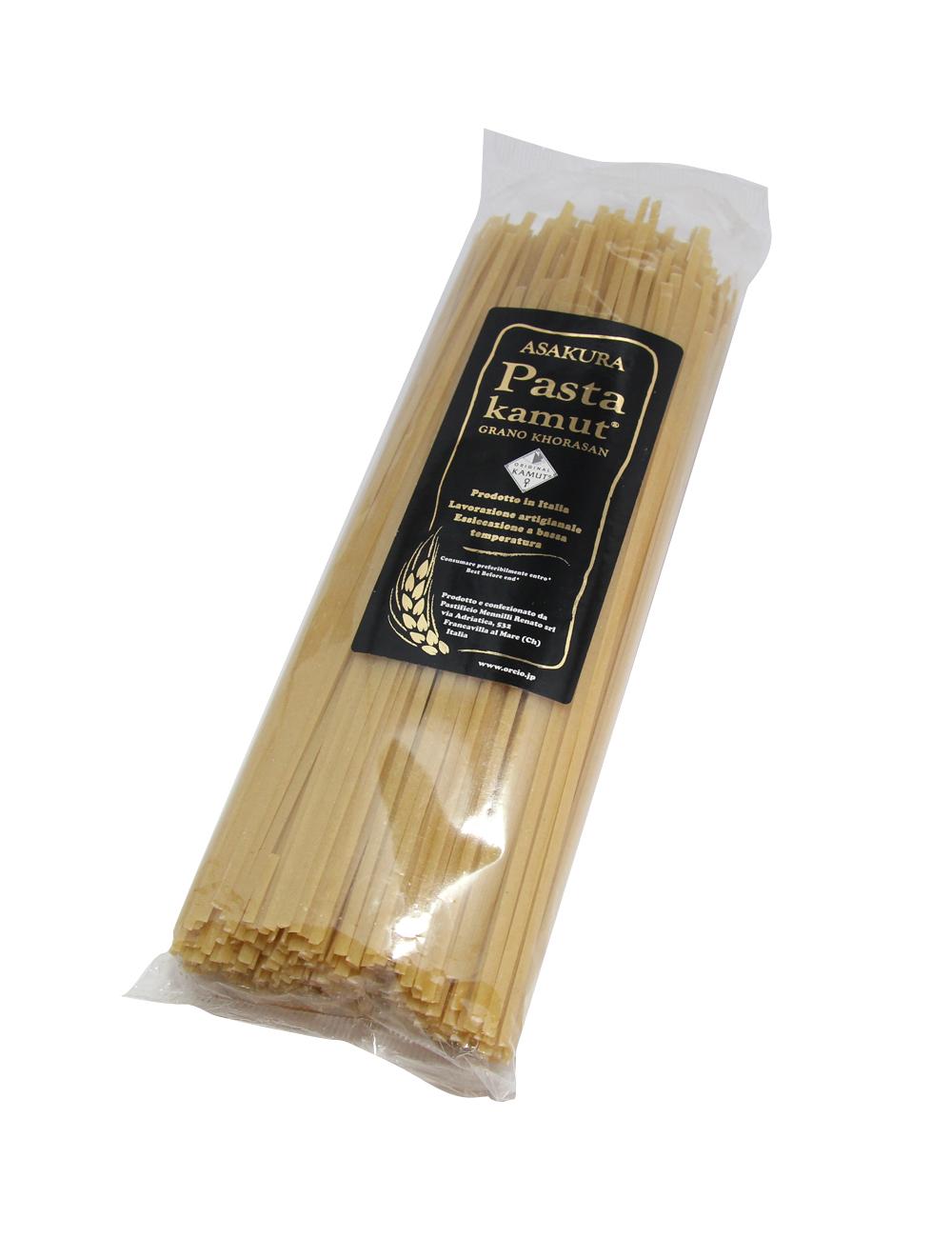 アサクラパスタ 古代小麦カムット(七分搗き)リングイネ