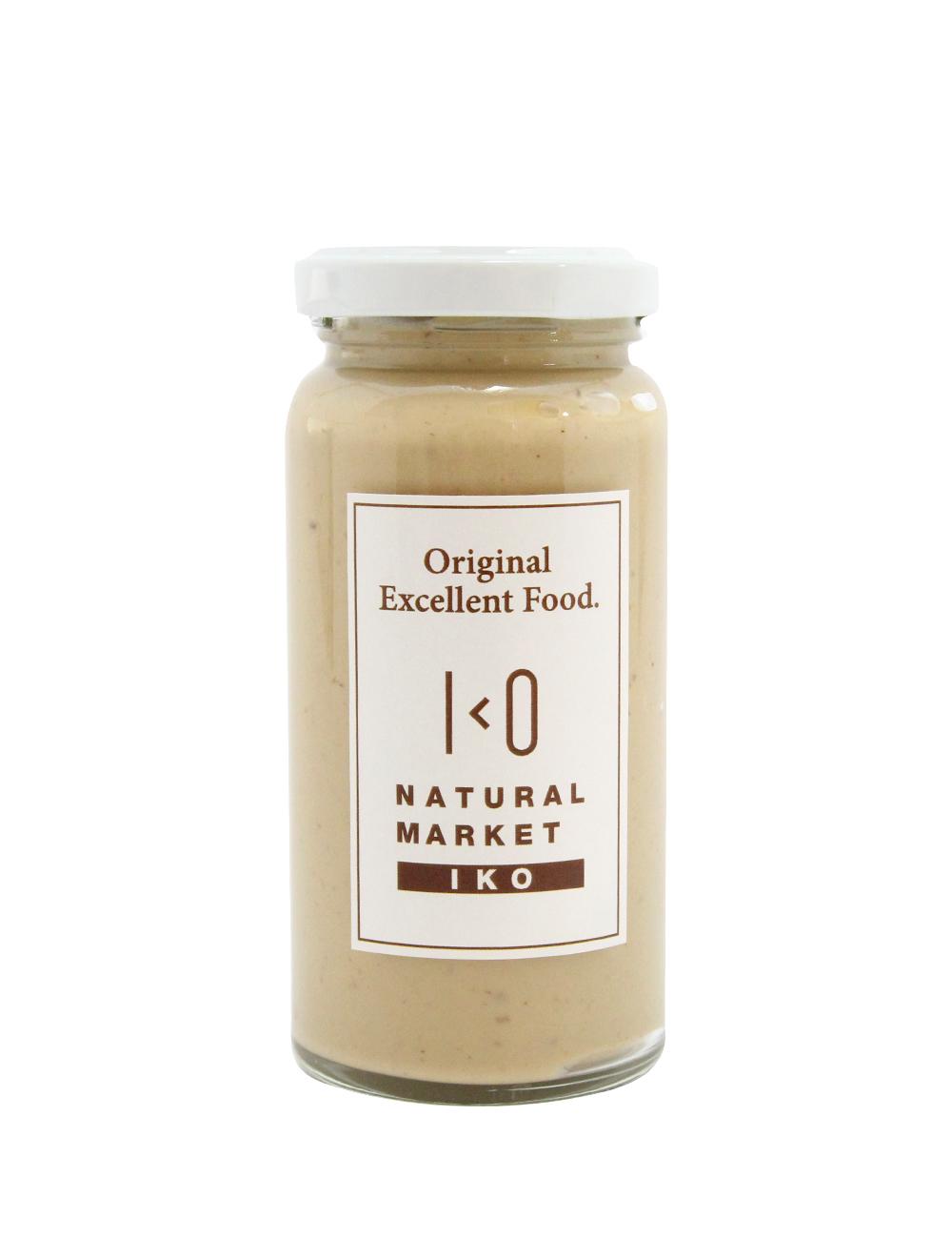 熟成黒にんにくマヨネーズ IKO 綿実油・米黒酢使用