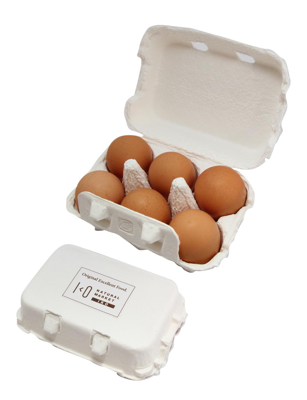 生たまご IKO 平飼い・受精卵・純国産鶏もみじ