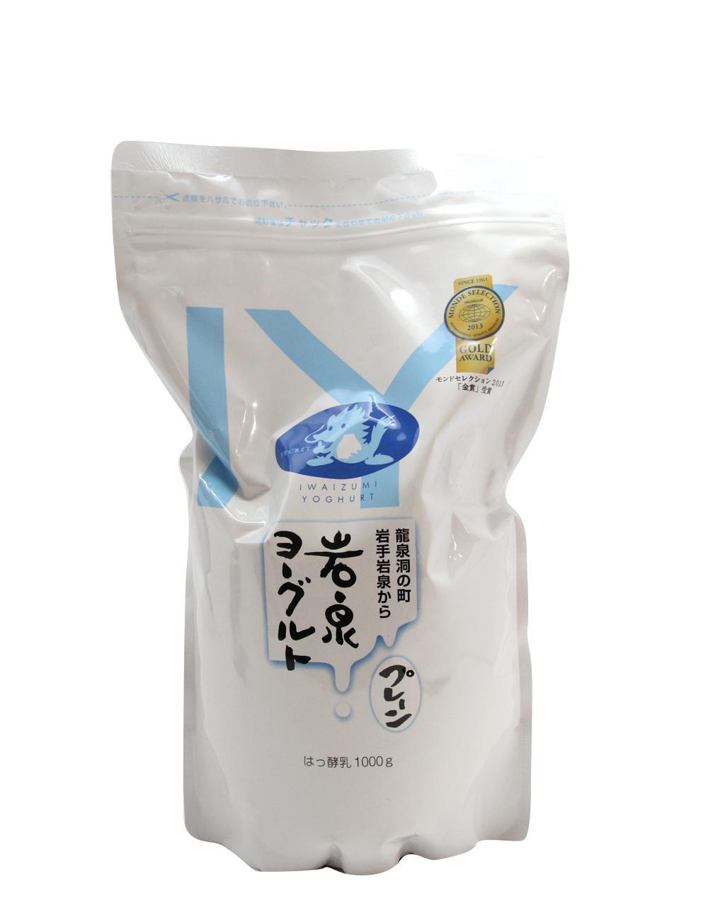 岩泉ヨーグルト プレーン モンドセレクション2013金賞