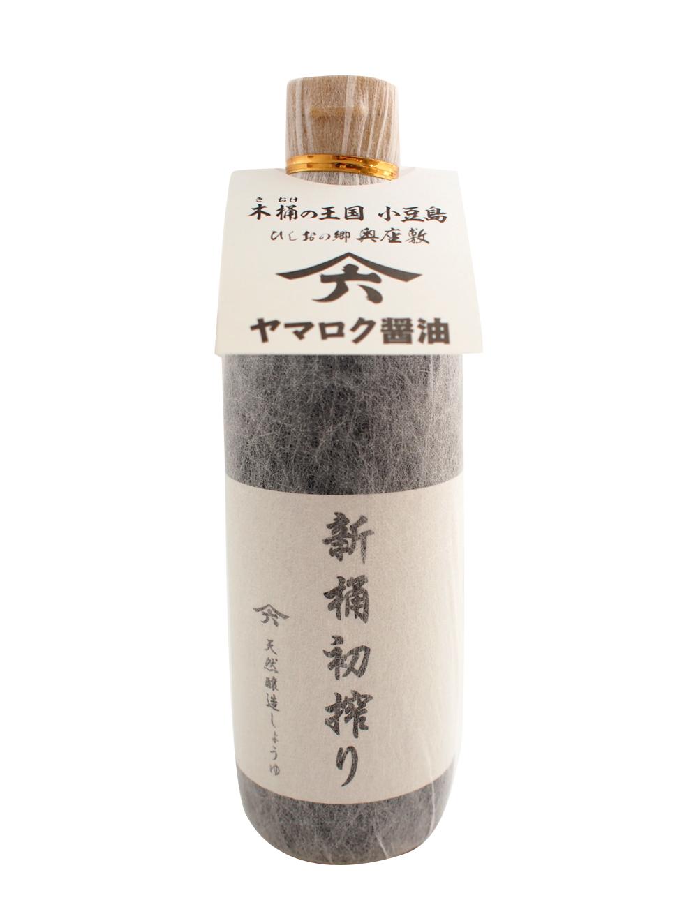 【限定品】ヤマロク醤油 新桶初搾2015