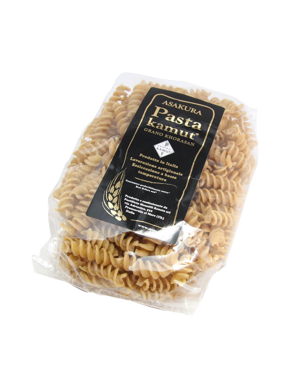 アサクラパスタ 古代小麦カムット(全粉) フジッリ