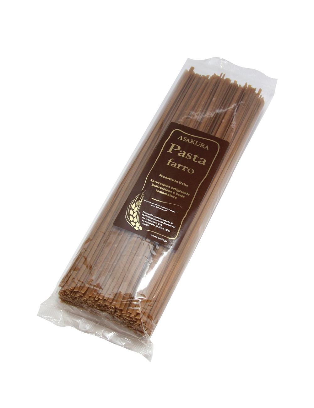アサクラパスタ 古代小麦ファッロ(全粉)リングイネ