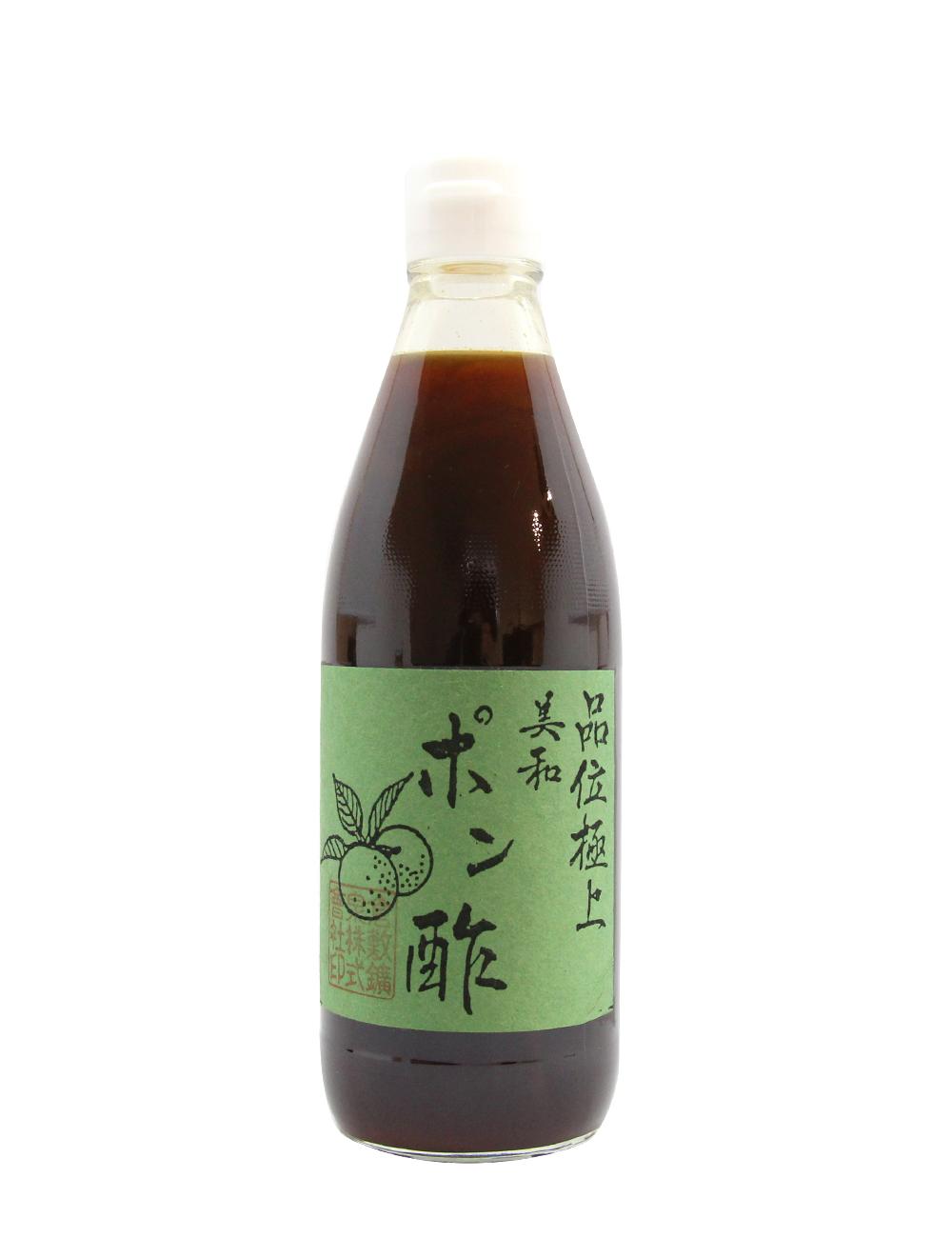 品位極上 美和ポン酢 本醸造醤油使用