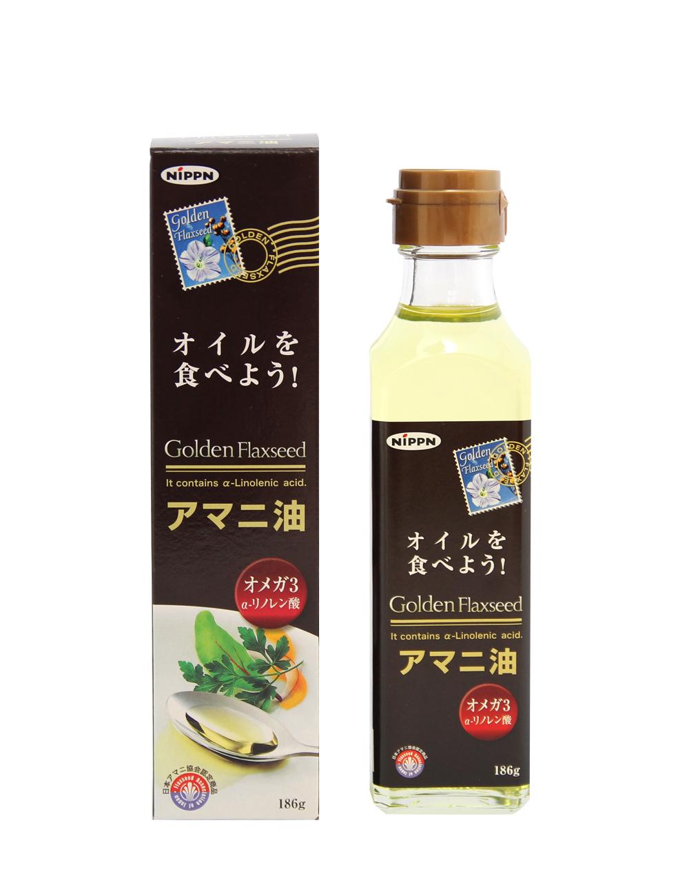 アマニ油 日本アマニ教会認定商品